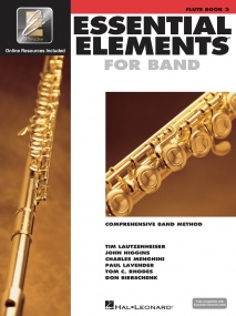 Essential Elements for Band - Book 2 with EEi for Flute published by Hal Leonard