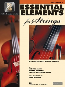 Essential Elements for Strings - Book 1 with EEi for Viola published by Hal Leonard