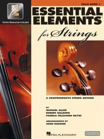 Essential Elements for Strings - Book 1 with EEi for Cello published by Hal Leonard