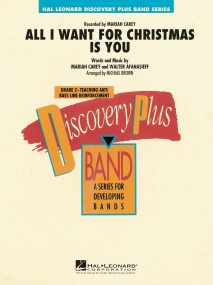 All I Want for Christmas Is You for Concert Band published by Hal Leonard - Set (Score & Parts)