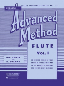 Rubank Advanced Method Book 1 for Flute
