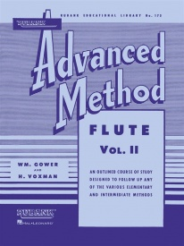Rubank Advanced Method Book 2 for Flute
