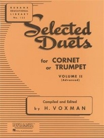 Selected Duets Volume 2 for Trumpet or Cornet published by Rubank