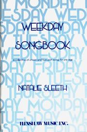 Weekday Songbook by Sleeth published by Hinshaw