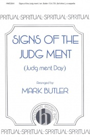 Signs Of The Judg Ment (Judg Ment Day) SATB published by Hinshaw