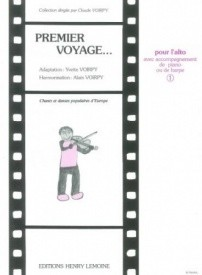 Premier Voyage Volume 1 for Viola published by Lemoine