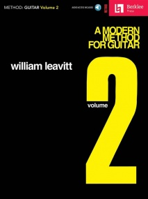 A Modern Method For Guitar: Volume 2 published by Hal Leonard (Book/Online Audio)