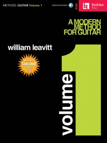 A Modern Method For Guitar: Volume 1 published by Hal Leonard (Book/Online Audio)