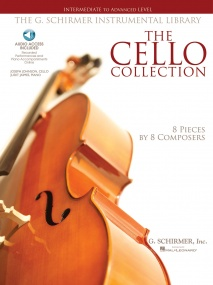 The Cello Collection - Intermediate/Advanced published by Schirmer (Book/Online Audio)