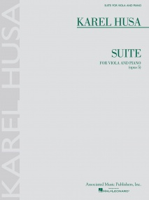 Husa: Suite for Viola Opus 5 published by AMP