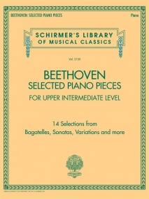 Beethoven: Selected Piano Pieces: Upper Intermediate published by Schirmer