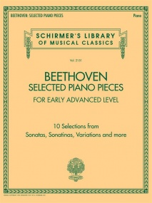 Beethoven: Selected Piano Pieces: Early Advanced published by Schirmer
