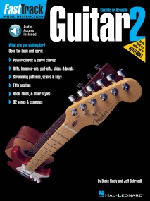 Fast Track Guitar: Book 2 published by Hal Leonard