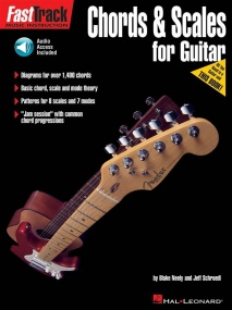 Fast Track Guitar: Chords And Scales published by Hal Leonard (Book/Online Audio)