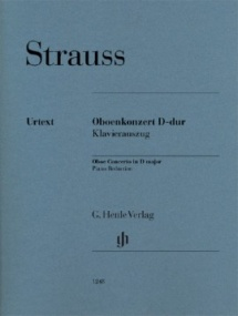 Strauss: Concerto in D for Oboe published by Henle