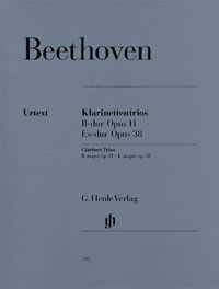 Beethoven: Clarinet Trios published by Henle