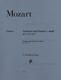 Mozart: Fantasy and Sonata in C Minor K475/457 for Piano published by Henle