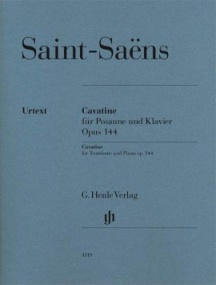 Saint-Saens: Cavatine for Trombone published by Henle