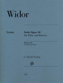 Widor: Suite Opus 34 for Flute published by Henle