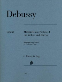 Debussy: Minstrels from Preludes I for Violin published by Henle