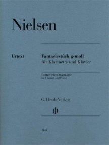 Gade: Fantasy Piece in G minor for Clarinet published by Henle