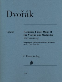 Dvorak: Romance in F minor Opus 11 for Violin published by Henle
