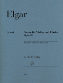 Elgar: Sonata Opus 82 for Violin published by Henle