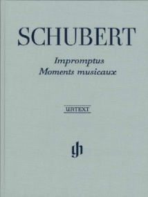 Schubert: Impromptus and Moments Musicaux for Piano published by Henle (Cloth Bound)