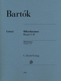 Bartok, Bela: Mikrokosmos 1 & 2 for Piano published by Henle Urtext