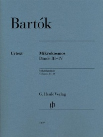 Bartok, Bela: Mikrokosmos 3 & 4 for Piano published by Henle Urtext