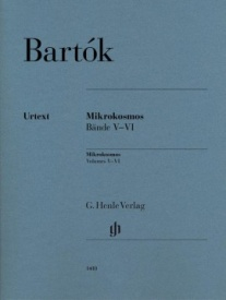 Bartok, Bela: Mikrokosmos 5 & 6 for Piano published by Henle Urtext