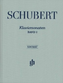 Schubert: Piano Sonatas Volume 1 published by Henle (Cloth Bound)