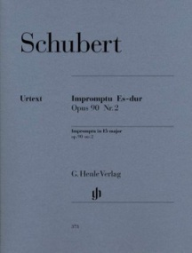 Schubert: Impromptu in Eb Opus 90/2 (D899) for Piano published by Henle