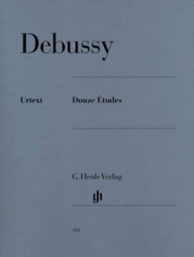 Debussy: 12 Etudes for Piano published by Henle