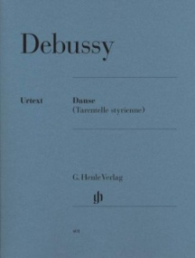Debussy: Danse (Tarentelle styrienne) for Piano published by Henle