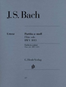 Bach: Partita in A Minor for Flute published by Henle