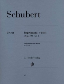 Schubert: Impromptu in C minor Opus 90/1 (D899) for Piano published by Henle