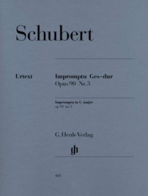 Schubert: Impromptu in Gb Opus 90/3 (D899) for Piano published by Henle