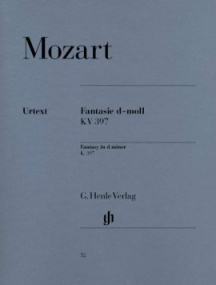 Mozart: Fantasy in D Minor K397 for Piano published by Henle