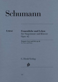 Schumann: Woman's Love and Life(Frauenliebe und Leben) published by Henle