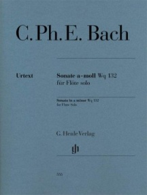 CPE Bach: Sonata in A minor for Flute by published by Henle