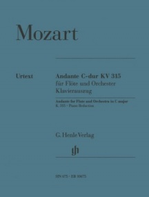 Mozart: Andante K315 for Flute published by Henle