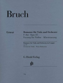 Bruch: Romance  in F Opus 85 for Violin published by Henle