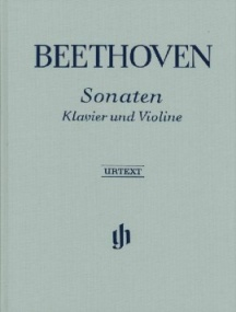 Beethoven: Sonatas for Piano and Violin published by Henle (Cloth Bound)