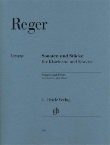Reger: Sonatas and Pieces for Clarinet published by Henle