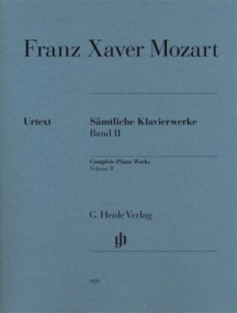 Mozart, Franz Xaver: Complete Piano Works Volume II published by Henle