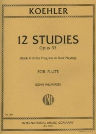 Kohler: Progress in Flute Playing Opus 33 Book 2 published by IMC
