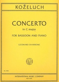 Concerto in C for Bassoon by Kozeluch published by IMC