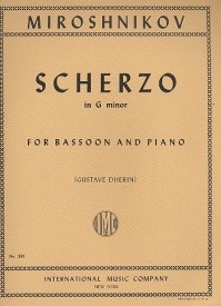 Scherzo for Bassoon by Miroshnikov published by IMC