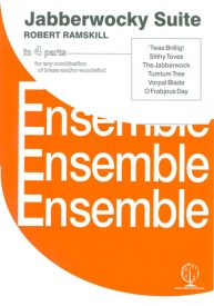 Jaberwocky Suite in 4 Part Ensemble for Woodwind and/or Brass published by Brasswind